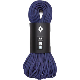 Black Diamond 7.9 Rope Dry Rope 10 mm, 70 m purple